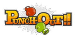 The logo for Punch-Out!!.