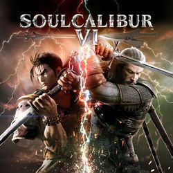 Box artwork for Soulcalibur VI.