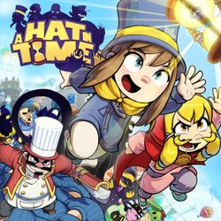 Box artwork for A Hat in Time.