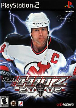 Box artwork for NHL Hitz 20-02.