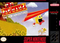 Box artwork for Pac-Man 2: The New Adventures.