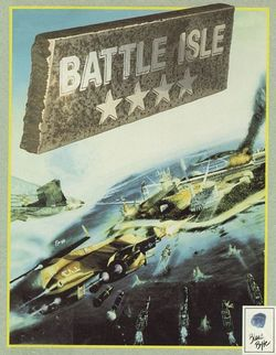 Box artwork for Battle Isle.