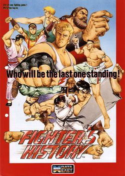 Box artwork for Fighter's History.