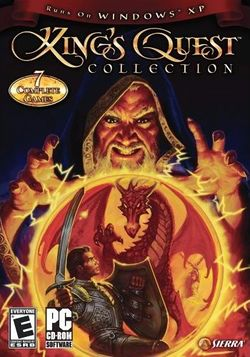 Box artwork for King's Quest Collection.