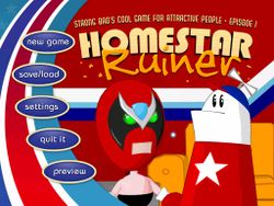 Box artwork for Strong Bad's Cool Game for Attractive People - Episode 1: Homestar Ruiner.