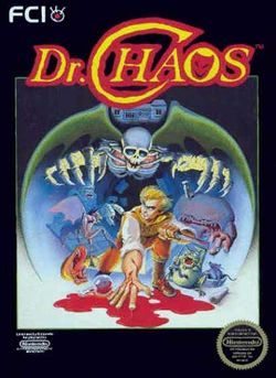 Box artwork for Dr. Chaos.