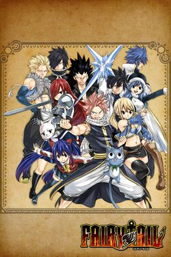 Box artwork for Fairy Tail.
