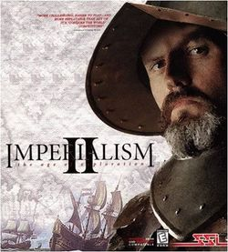 Box artwork for Imperialism II: The Age of Exploration.