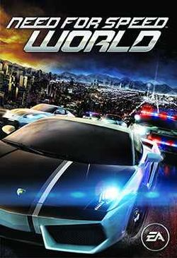Box artwork for Need for Speed: World.