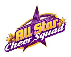 The logo for All Star Cheer Squad.