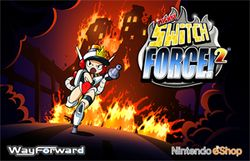 Box artwork for Mighty Switch Force! 2.