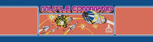 Missile Command marquee