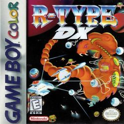Box artwork for R-Type DX.