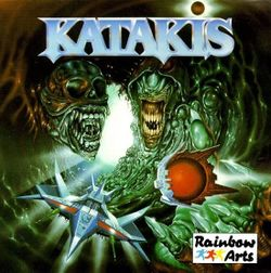 Box artwork for Katakis.