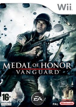 Box artwork for Medal of Honor: Vanguard.