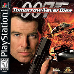 Box artwork for Tomorrow Never Dies.
