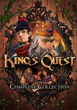 Box artwork for King's Quest.