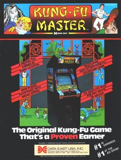 Box artwork for Kung-Fu Master.