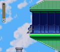 Mega Man X Storm Eagle Breaking Window.png