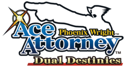 Box artwork for Phoenix Wright: Ace Attorney - Dual Destinies.