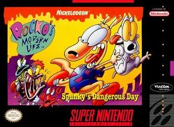 Box artwork for Rocko's Modern Life.