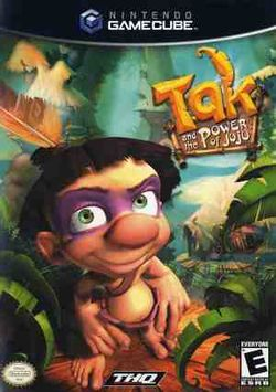 Box artwork for Tak and the Power of Juju.