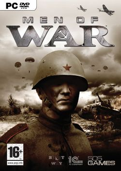 Box artwork for Men of War.