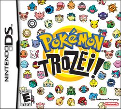 Box artwork for Pokémon Trozei!.
