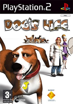 Box artwork for Dog's Life.