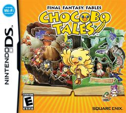 Box artwork for Final Fantasy Fables: Chocobo Tales.