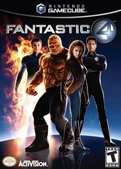 Box artwork for Fantastic Four.