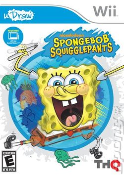 Box artwork for SpongeBob SquigglePants.