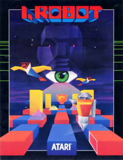 Box artwork for I, Robot.