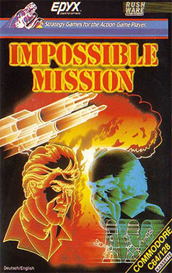 Box artwork for Impossible Mission.