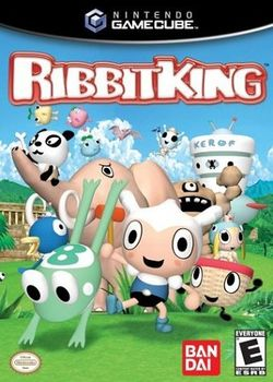Box artwork for Ribbit King.