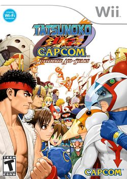 Box artwork for Tatsunoko vs. Capcom: Ultimate All-Stars.