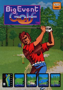 Box artwork for Big Event Golf.