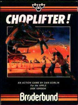 Box artwork for Choplifter!.