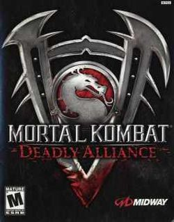 Box artwork for Mortal Kombat: Deadly Alliance.