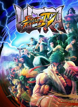 Box artwork for Ultra Street Fighter IV.
