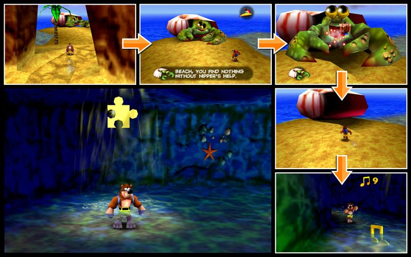 Banjo-Kazooie/Treasure Trove Cove — StrategyWiki, the video