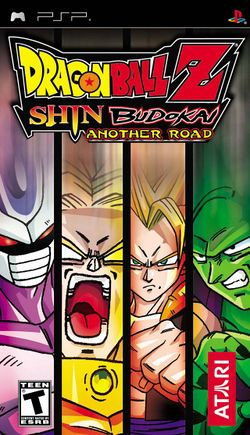 Box artwork for Dragon Ball Z: Shin Budokai: Another Road.