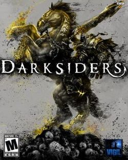 Box artwork for Darksiders.