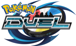Box artwork for Pokémon Duel.