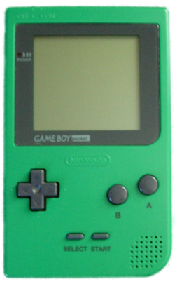 The console image for Game Boy Pocket.