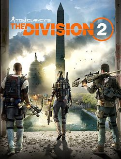 Box artwork for Tom Clancy's The Division 2.