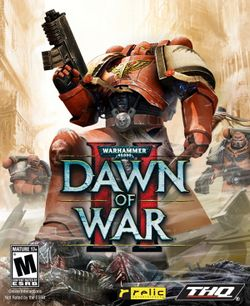 Box artwork for Warhammer 40,000: Dawn of War II.