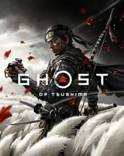 Box artwork for Ghost of Tsushima.