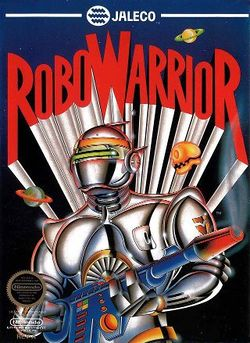 Box artwork for Robo Warrior.