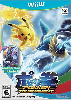 Box artwork for Pokkén Tournament.